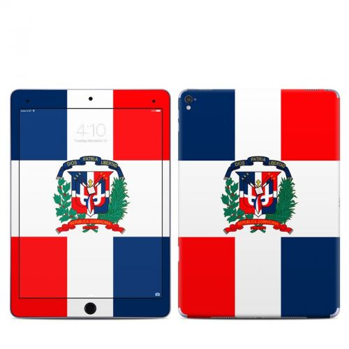 Dominican Republic Flag iPad Pro 9.7-inch Skin