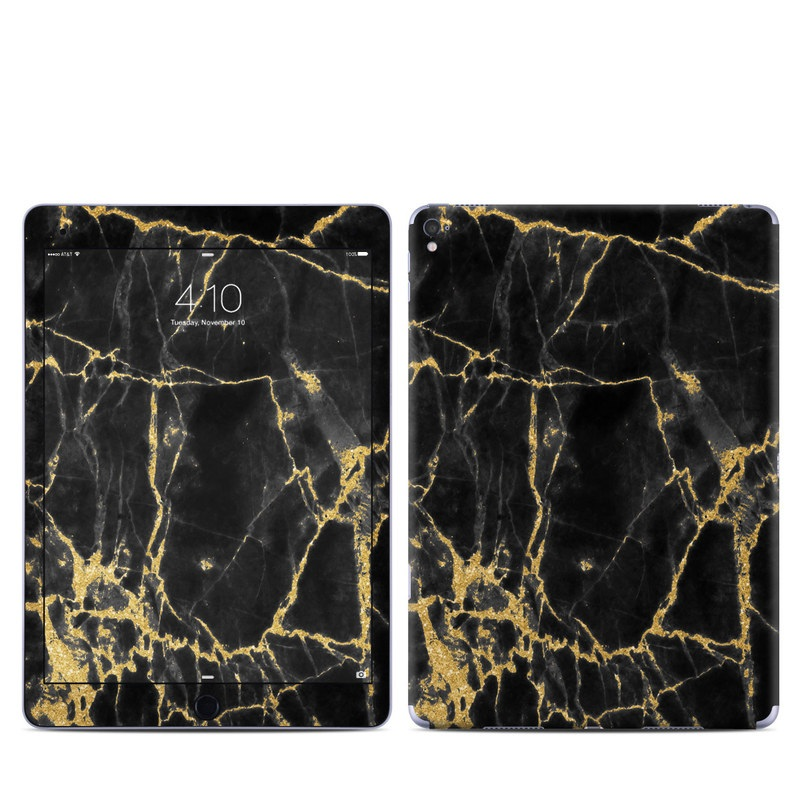 Black Gold Marble iPad Pro 9.7-inch Skin