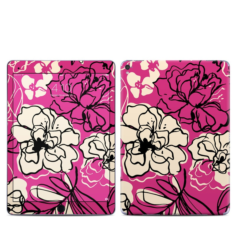 Black Lily iPad Pro 9.7-inch Skin