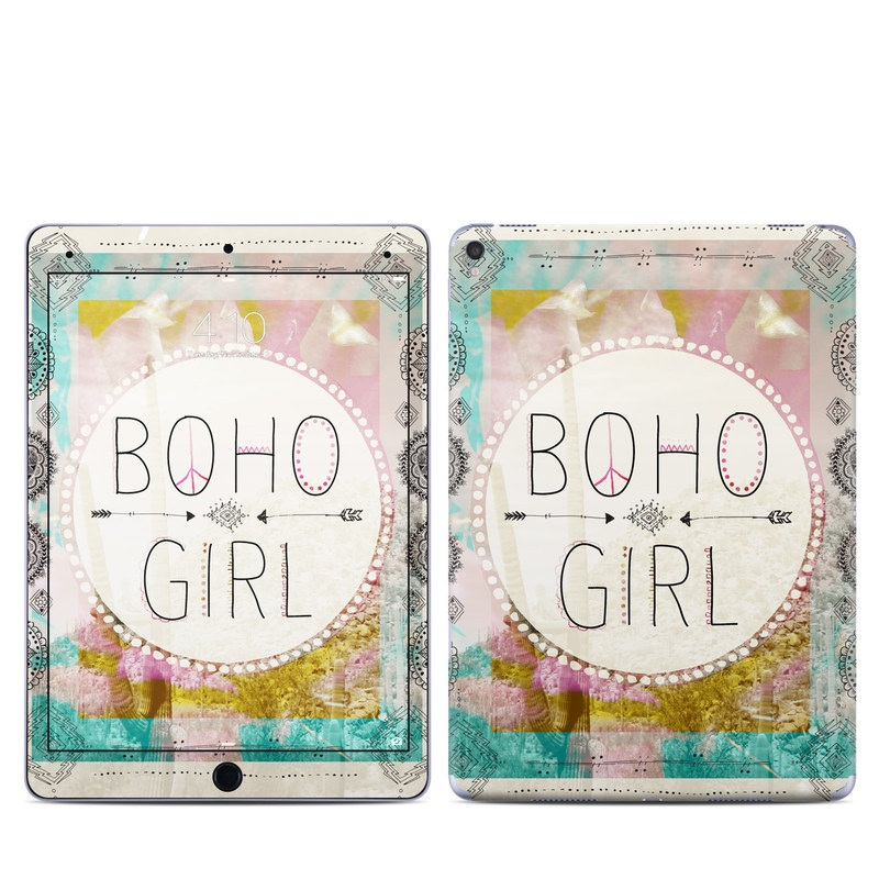 Boho Girl iPad Pro 9.7-inch Skin