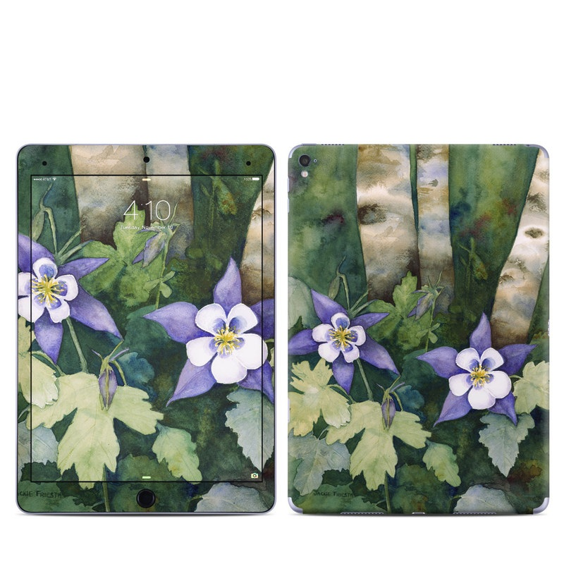 Colorado Columbines iPad Pro 9.7-inch Skin