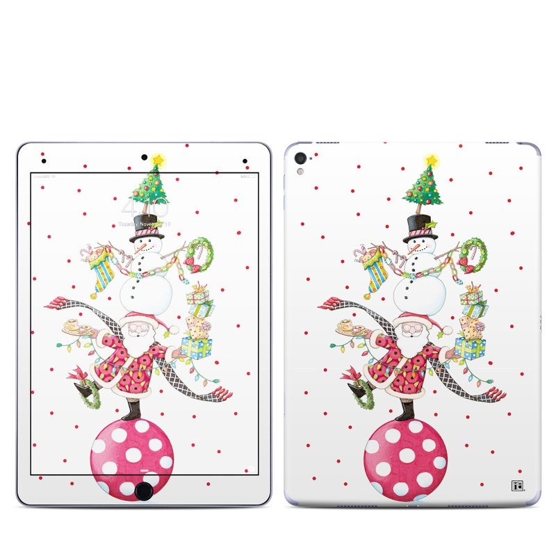 Christmas Circus iPad Pro 9.7-inch Skin