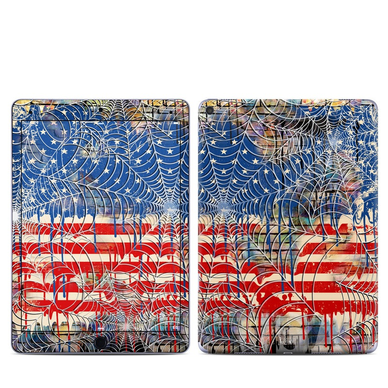 Cobweb Flag iPad Pro 9.7-inch Skin