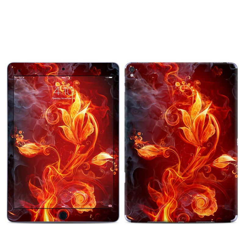Flower Of Fire iPad Pro 9.7-inch Skin