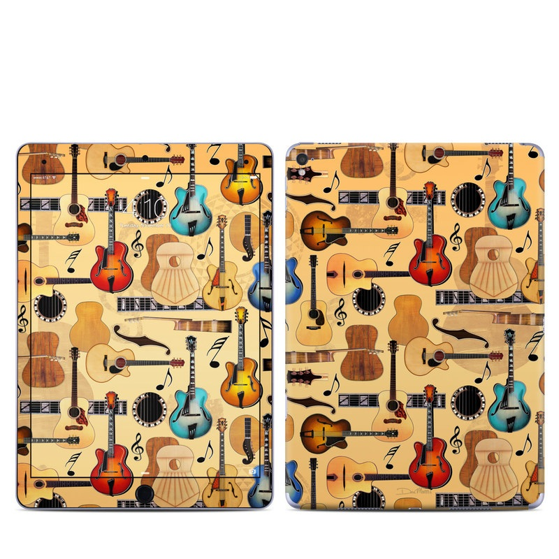 Guitar Collage iPad Pro 9.7-inch Skin