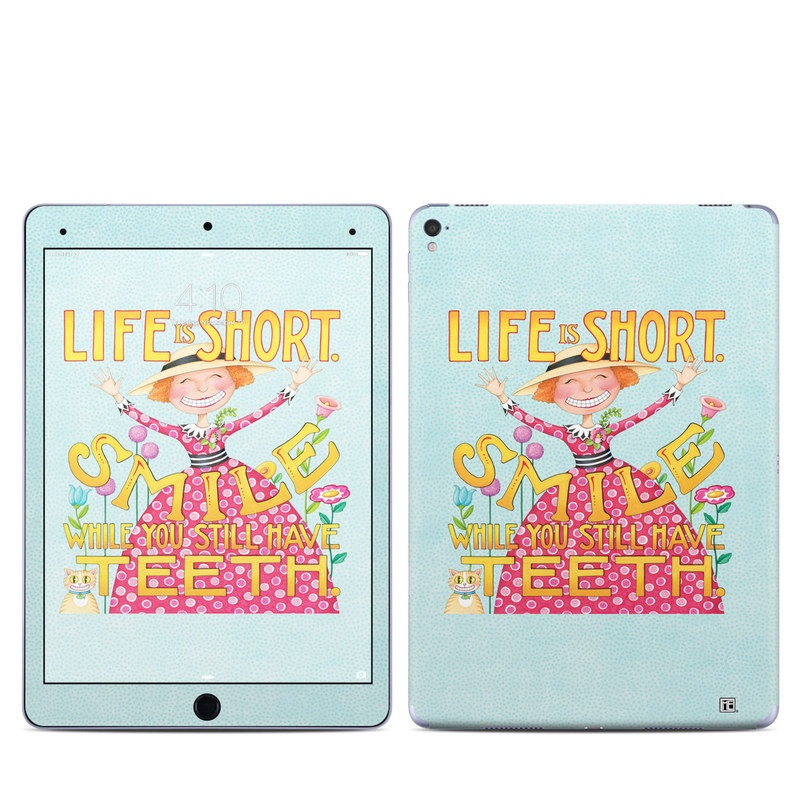 Life is Short iPad Pro 9.7-inch Skin