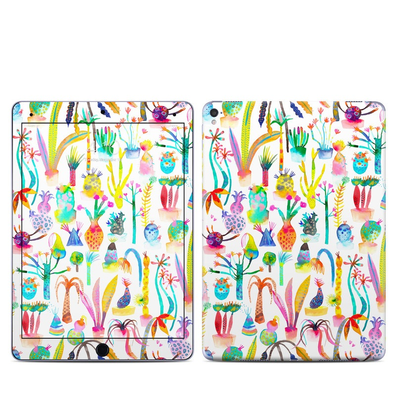 iPad Pro 1st Gen 9.7-inch Skin design of Pattern with white, yellow, green, blue, orange, pink, purple, brown, black colors
