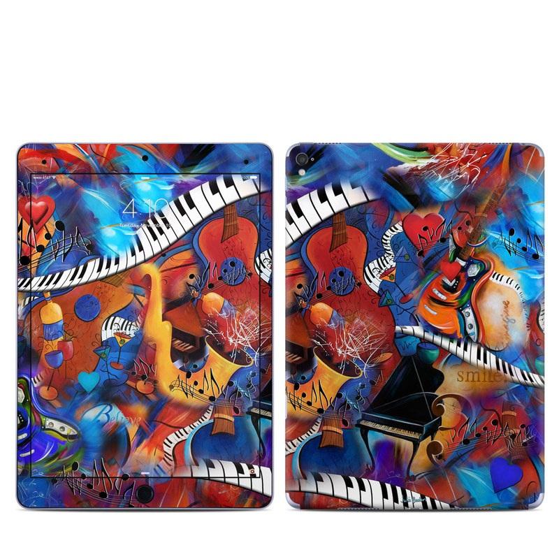 Music Madness iPad Pro 9.7-inch Skin