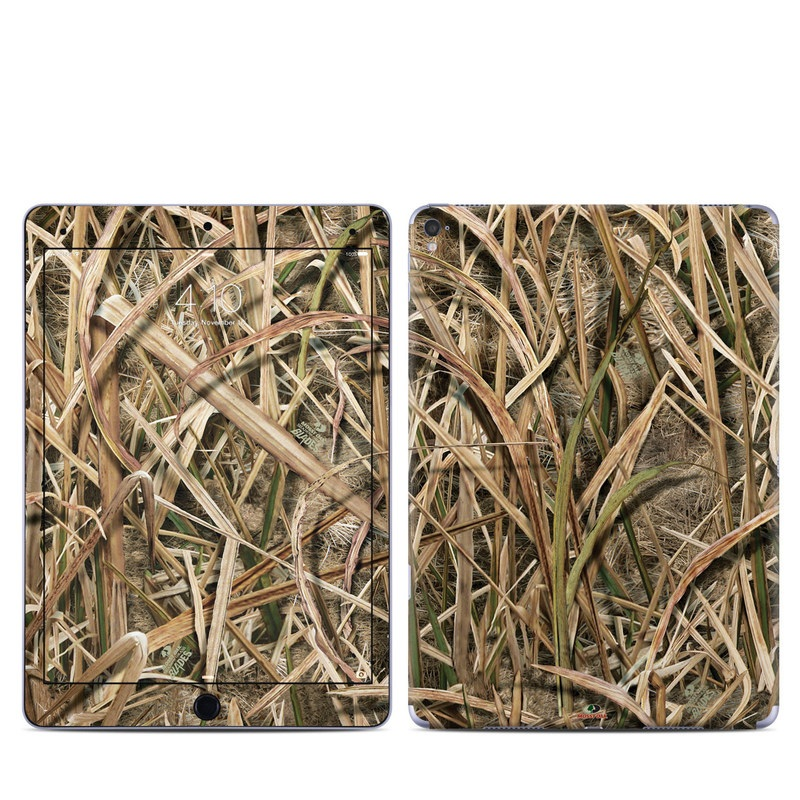 iPad Pro 9.7-inch Skin design of Grass, Straw, Plant, Grass family, Twig, Adaptation, Agriculture with black, green, gray, red colors