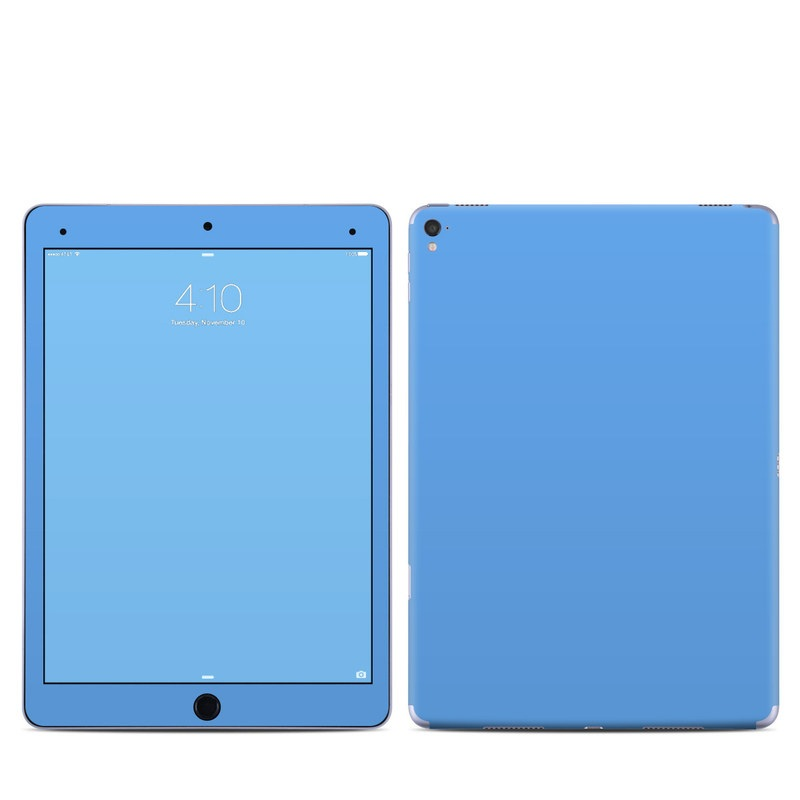 iPad Pro 9.7-inch Skin design of Sky, Blue, Daytime, Aqua, Cobalt blue, Atmosphere, Azure, Turquoise, Electric blue, Calm with blue colors