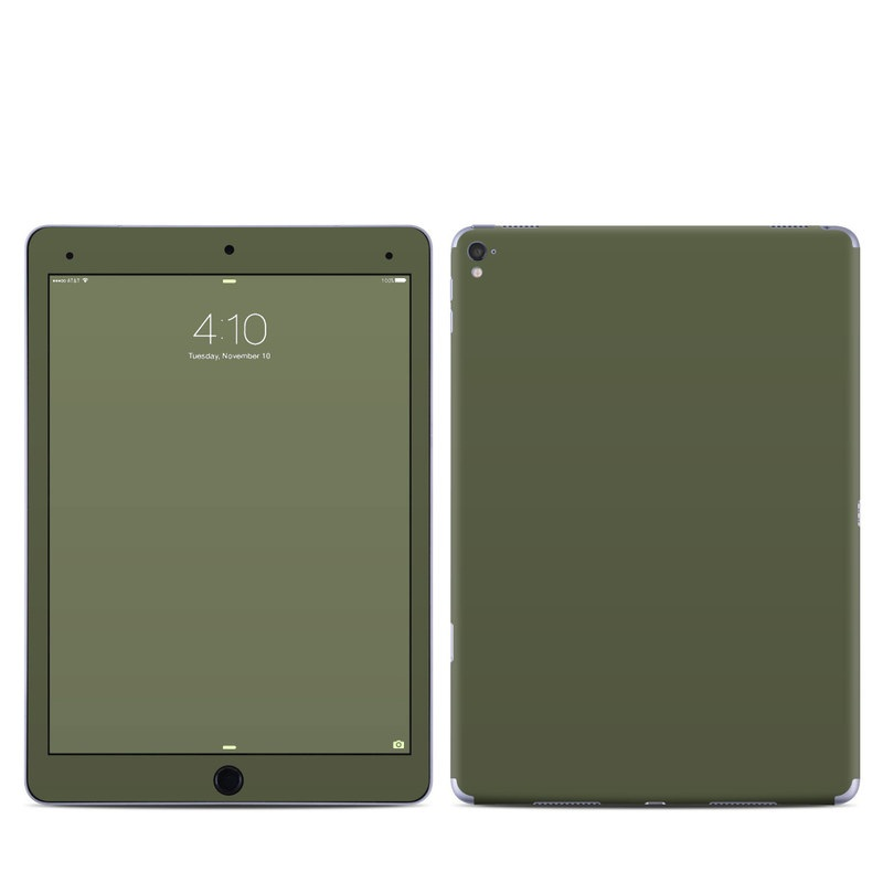 Solid State Olive Drab iPad Pro 9.7-inch Skin