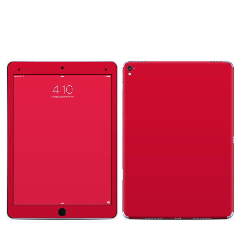 iPad Pro 1st Gen 9.7-inch Skin design of Red, Pink, Maroon, Purple, Orange, Violet, Magenta, Material property, Font, Peach with red colors