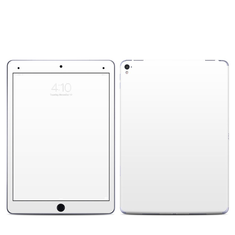 Solid State White iPad Pro 9.7-inch Skin