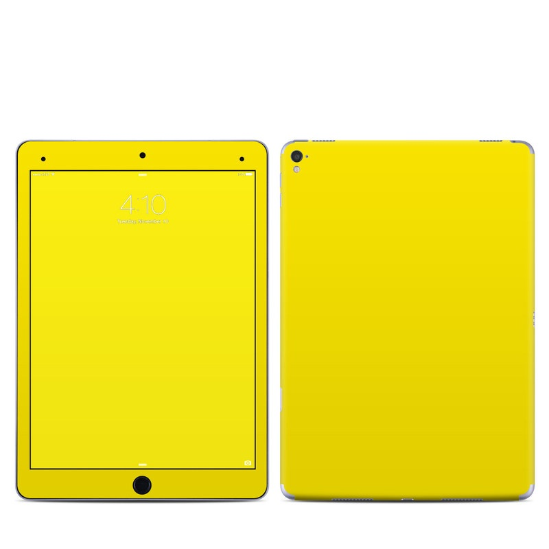 iPad Pro 9.7-inch Skin design of Green, Yellow, Orange, Text, Font with yellow colors