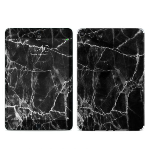 Black Marble iPad mini 4 Skin