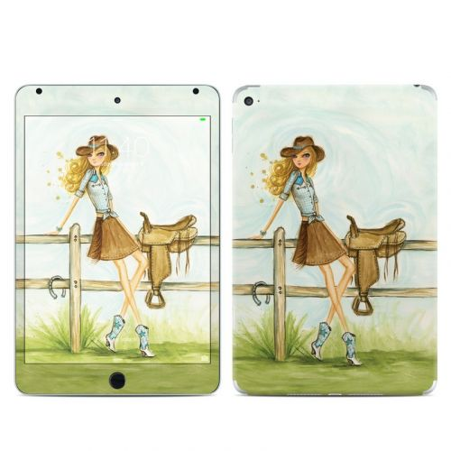Cowgirl Glam iPad mini 4 Skin