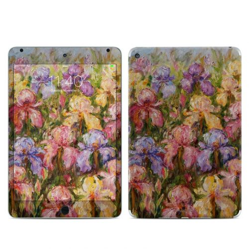 Field Of Irises iPad mini 4 Skin