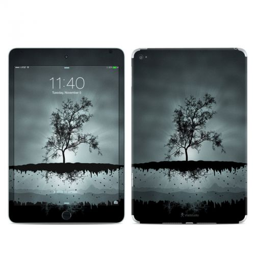 Flying Tree Black iPad mini 4 Skin