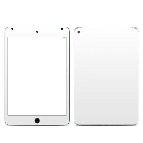 Solid State White iPad mini 4 Skin