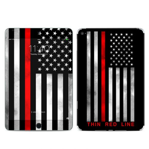 Thin Red Line iPad mini 4 Skin