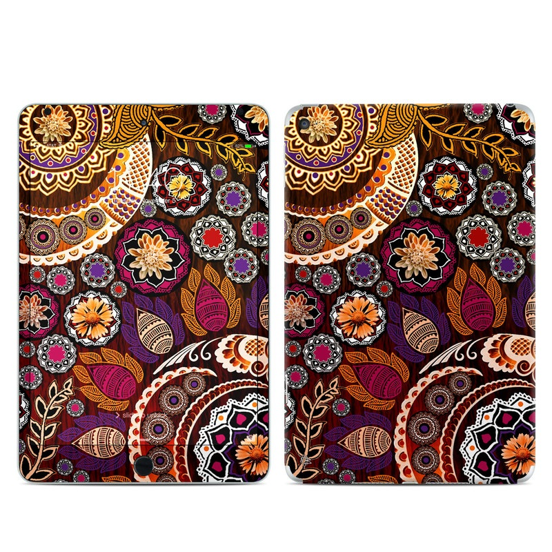 Autumn Mehndi iPad mini 4 Skin