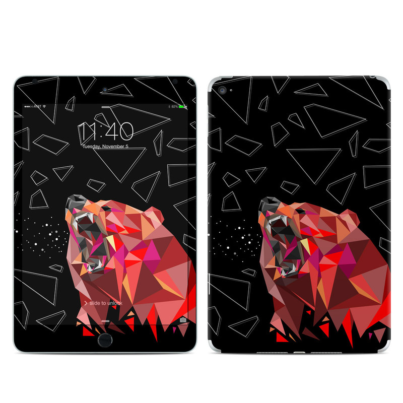 Bears Hate Math iPad mini 4 Skin