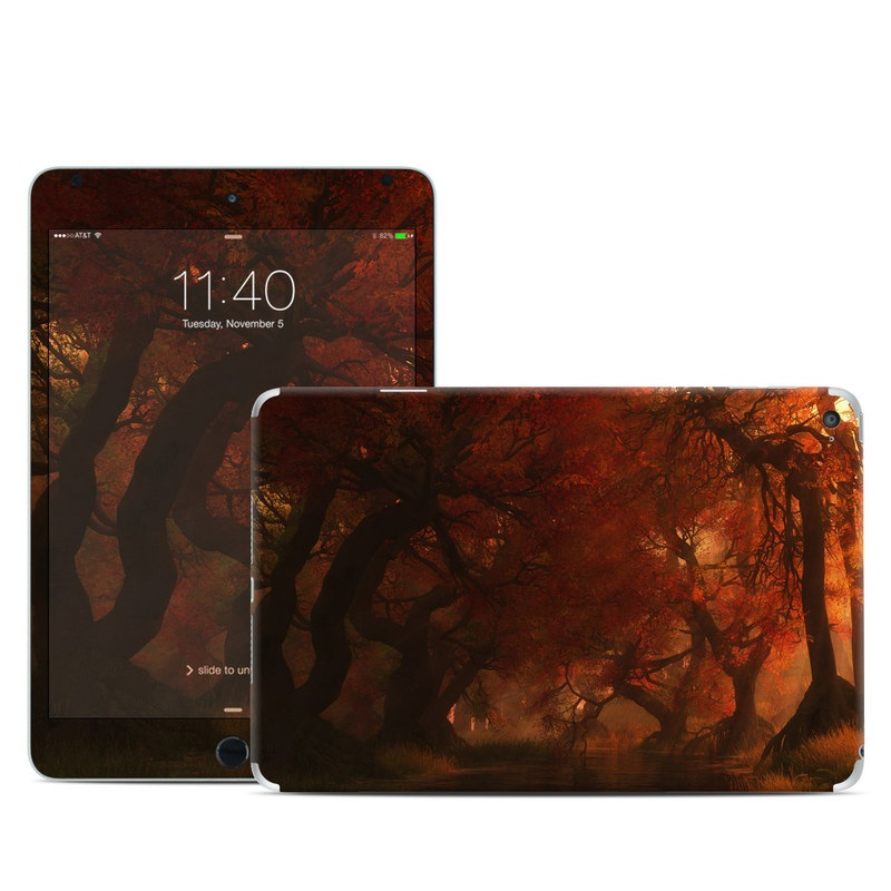 Canopy Creek Autumn iPad mini 4 Skin