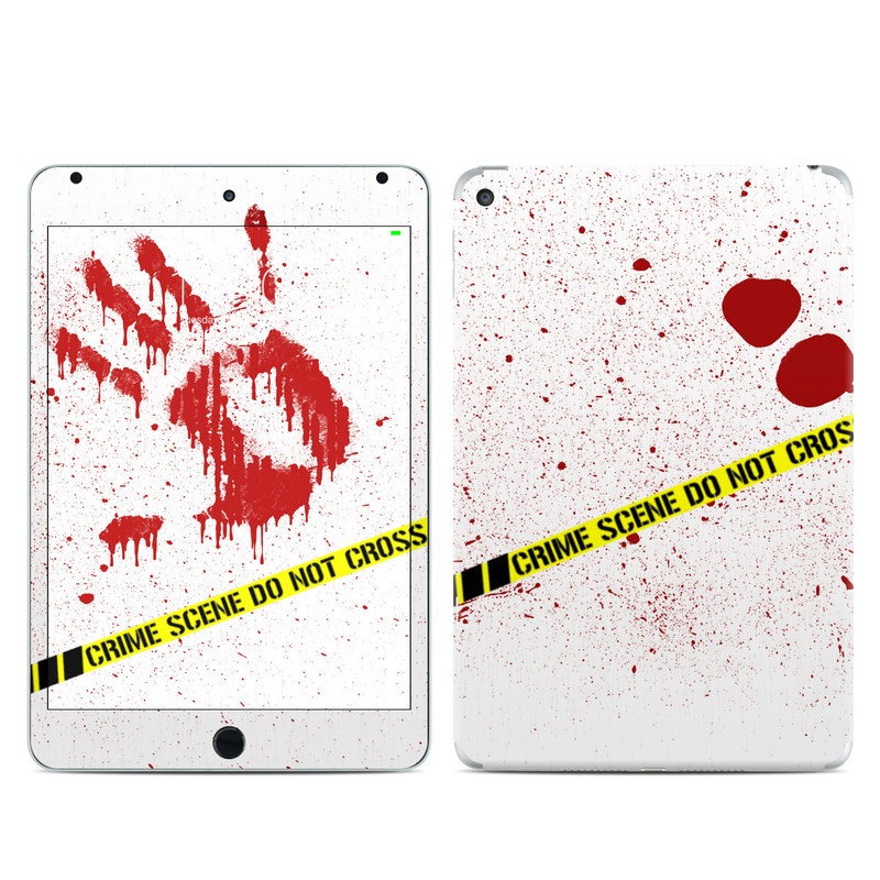 Crime Scene Revisited iPad mini 4 Skin