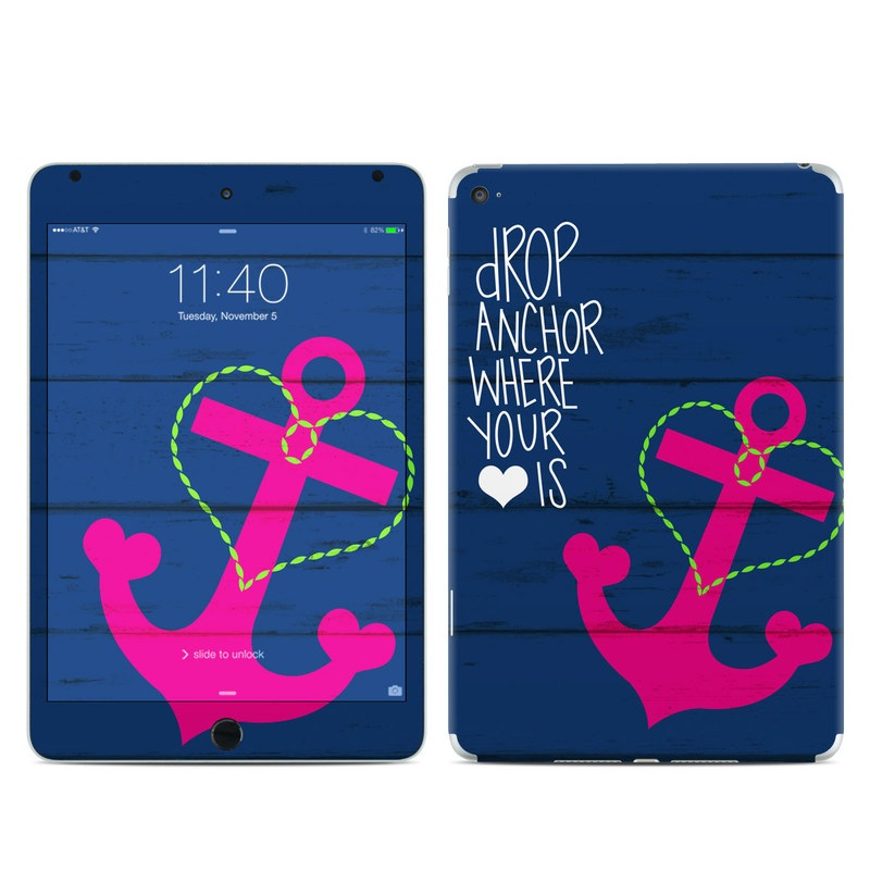 Drop Anchor iPad mini 4 Skin