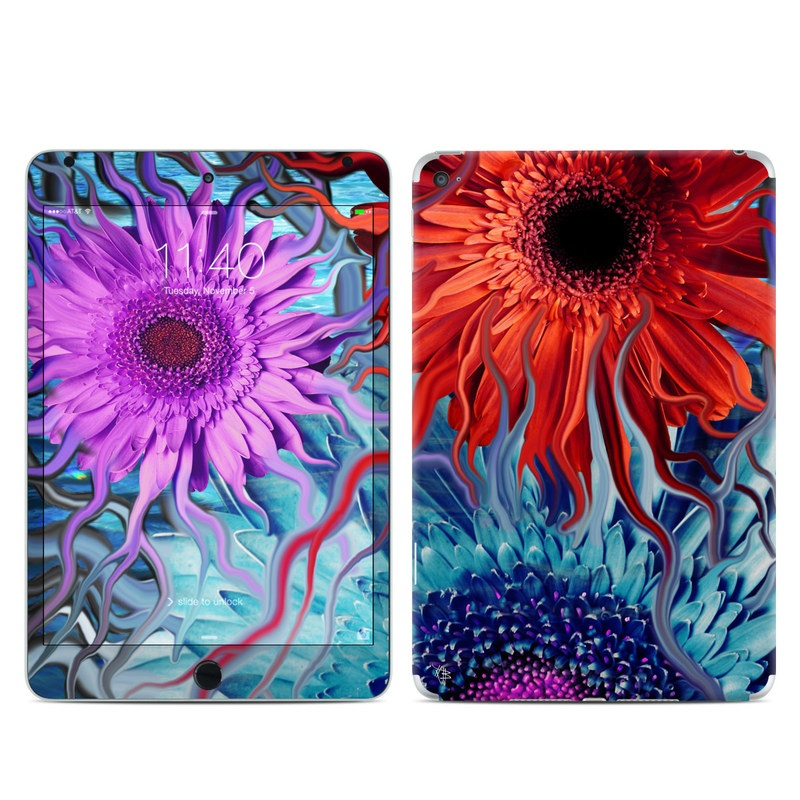 Deep Water Daisy Dance iPad mini 4 Skin