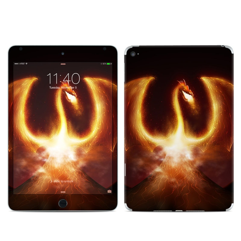 Fire Dragon iPad mini 4 Skin