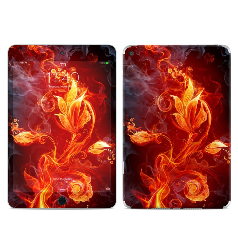Flower Of Fire iPad mini 4 Skin