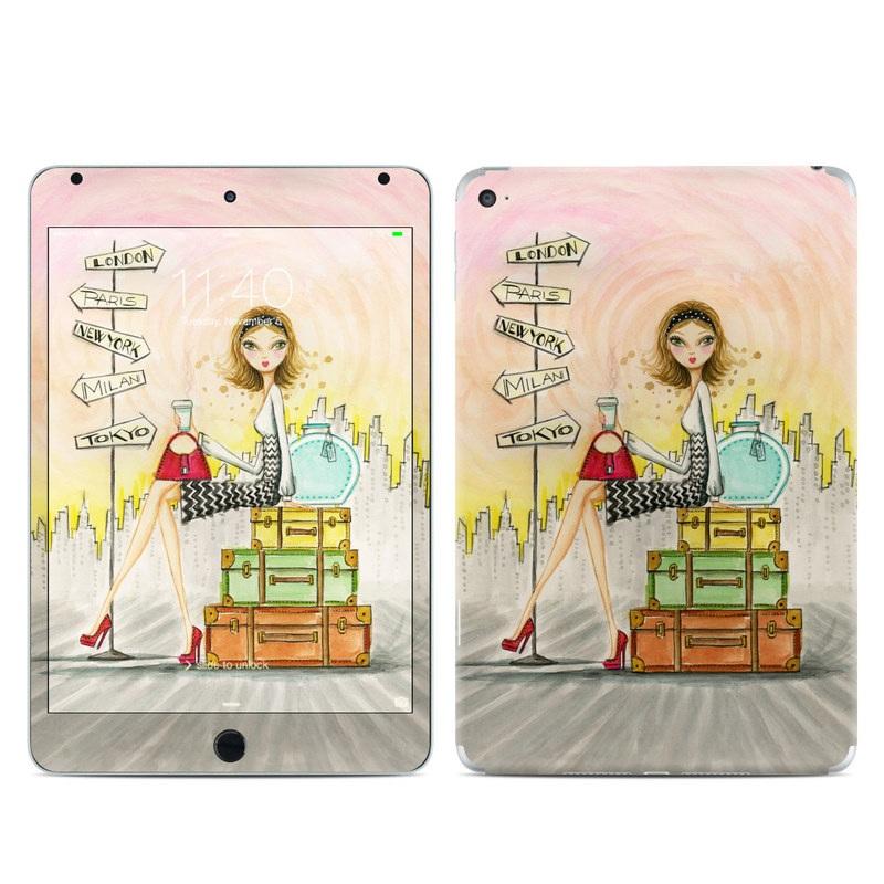 The Jet Setter iPad mini 4 Skin