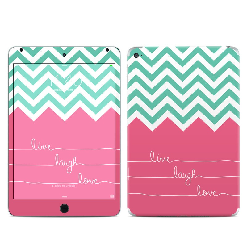 Live Laugh Love iPad mini 4 Skin
