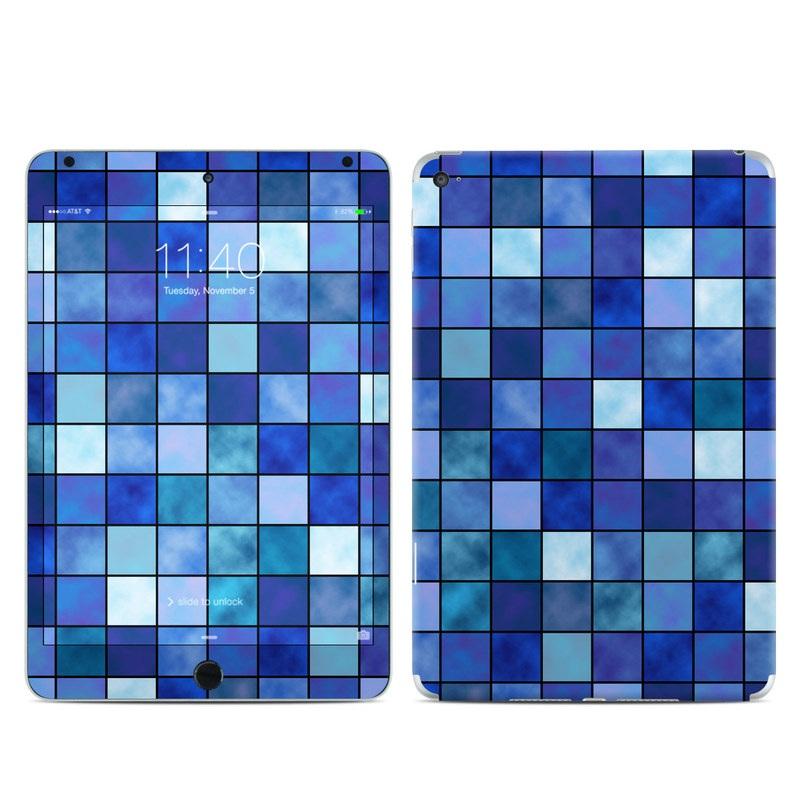 Blue Mosaic iPad mini 4 Skin