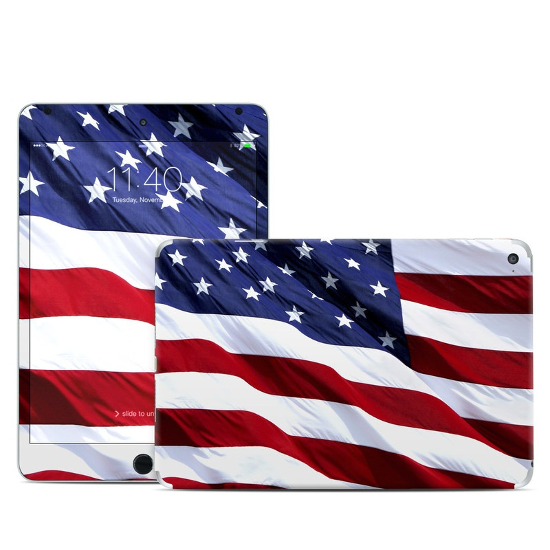 Patriotic iPad mini 4 Skin