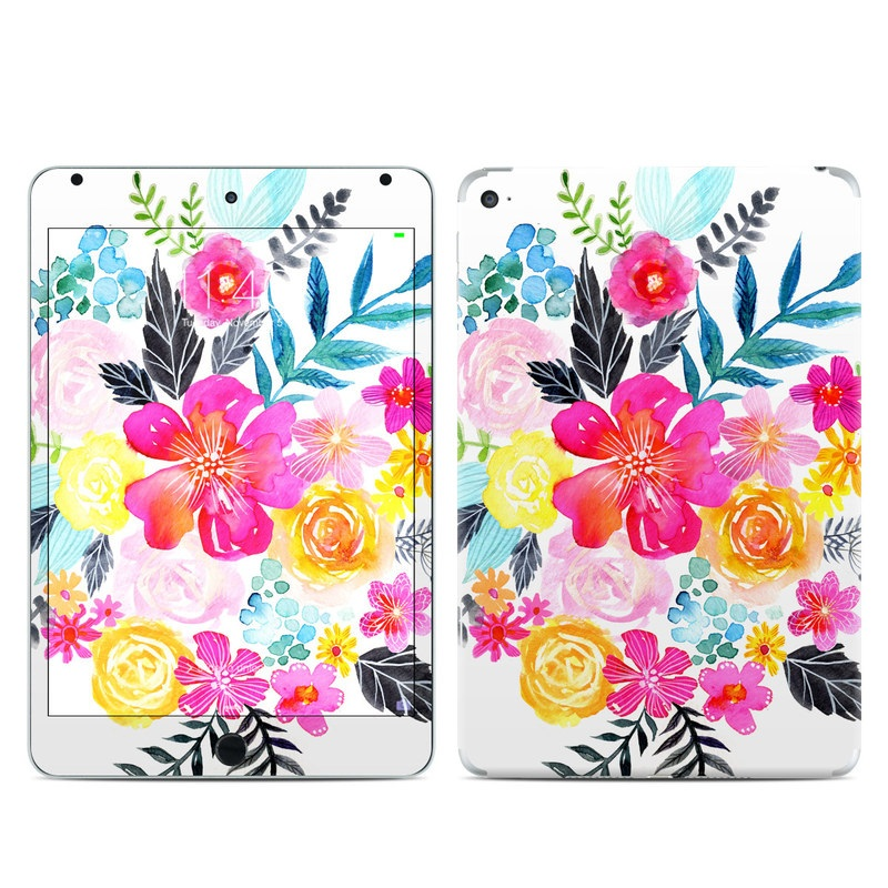 Pink Bouquet iPad mini 4 Skin