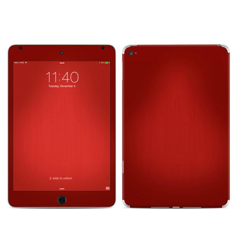 iPad mini 4 Skin design of Red, Maroon, Orange, Brown, Peach, Pattern, Magenta with red colors