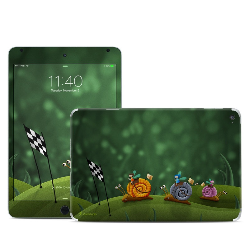 Snail Race iPad mini 4 Skin
