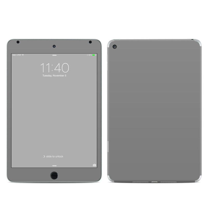Solid State Grey iPad mini 4 Skin
