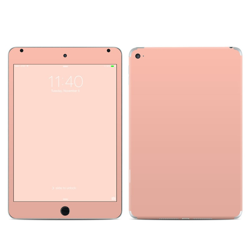Solid State Peach iPad mini 4 Skin