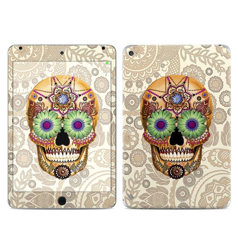 Sugar Skull Bone iPad mini 4 Skin