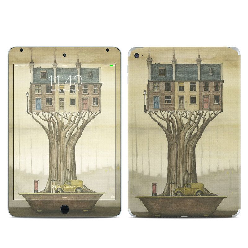 Terraced Houses iPad mini 4 Skin