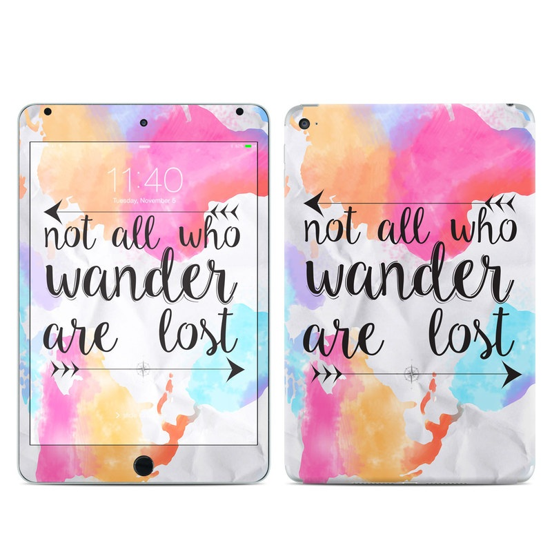 Wander iPad mini 4 Skin
