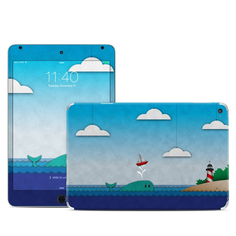 Whale Sail iPad mini 4 Skin