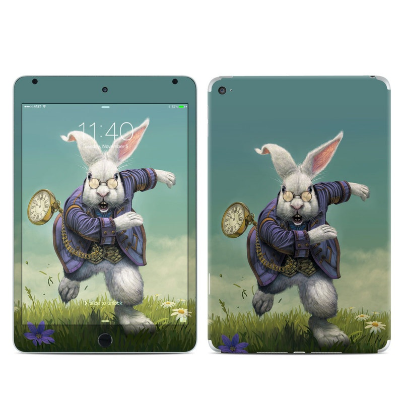 White Rabbit iPad mini 4 Skin