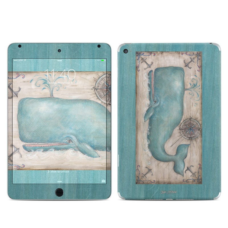 Whale Watch iPad mini 4 Skin
