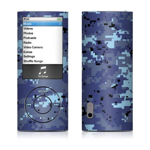 Digital Sky Camo iPod nano 5th Gen Skin