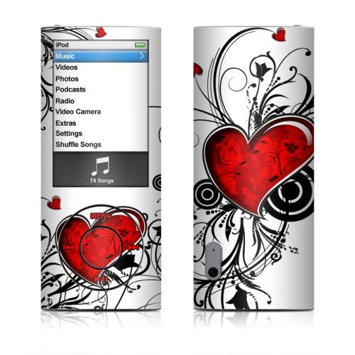 My Heart iPod nano 5th Gen Skin