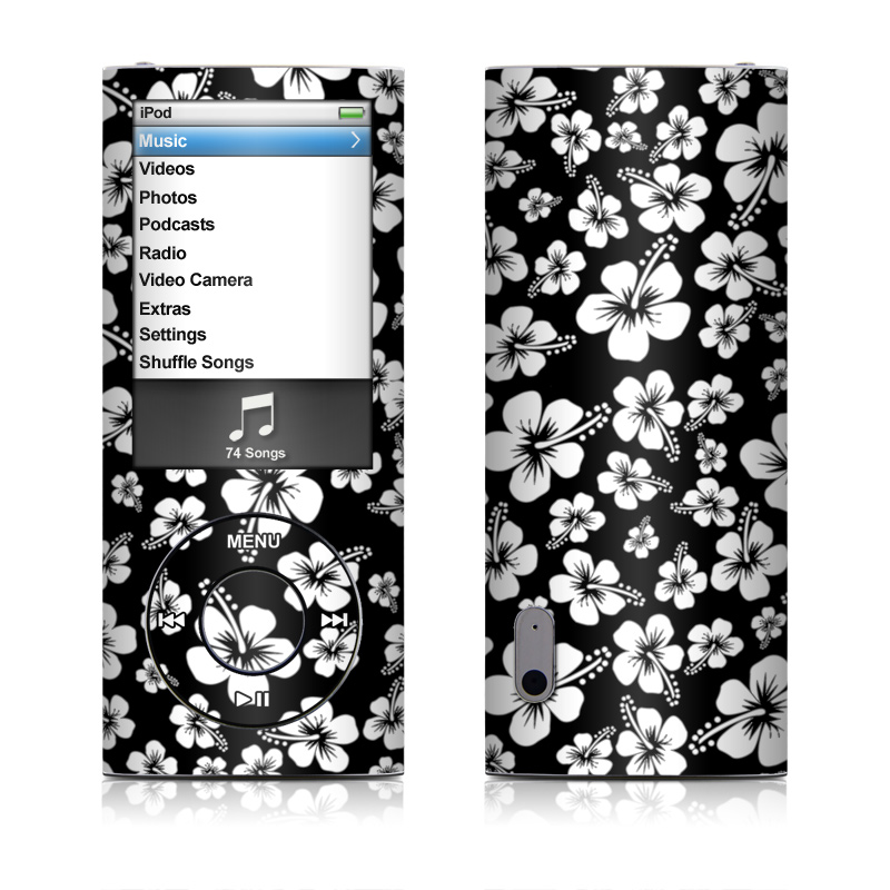 Aloha Black iPod nano 5th Gen Skin